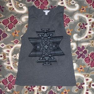 Aztec Design Sleeveless shirt